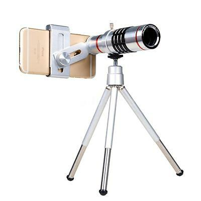 Universal 18X Zoom Phone Telephoto Camera Lens w/Tripod for iPhone Samsung P6L4