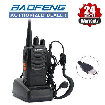 Baofeng BF-888S UHF Walkie Talkie Two Way Long Range Radio + UV-5R Earpiece UK