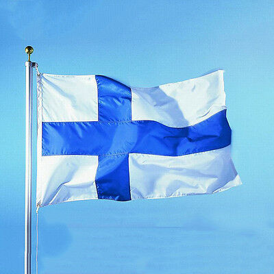 3'x5' Finland Flag Large Polyester Finnish National Banner Indoor Outdoor #JY
