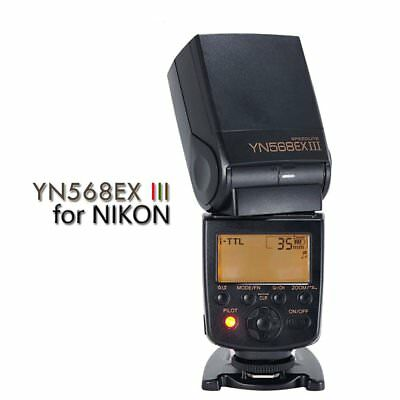 Yongnuo YN-568EX Flash Speedlite TTL HSS for Nikon D3 D600 D700 D5100 UK