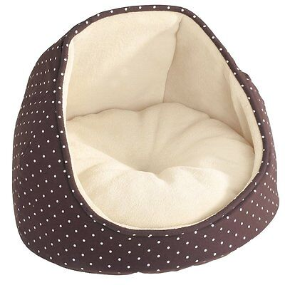 Coussin igloo - Motif points blancs