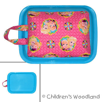 Best Kids Lap Tray - Frozen Art Desk to Carry - Anna Elsa Girls Coloring Supply