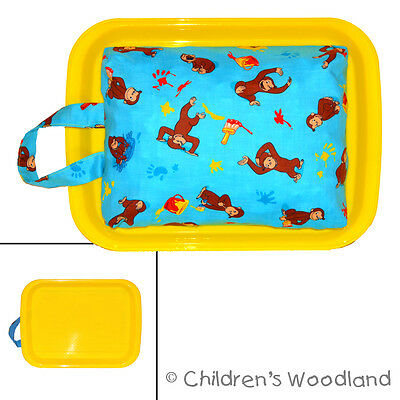 Kids Travel Desk - Curious George Lap Tray - For 3 Year Old Preschooler Art