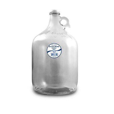 Wave Enviro Products Glass Bottle, Clear, 1-Gallon