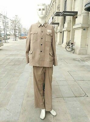 Summer Uniform Of Chinese Volunteers Army At Korea War Tunic And Trousers 1