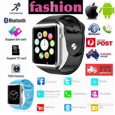 Smart Wrist Watch A1 Phone Mate for Apple IOS Android IPhone Watch