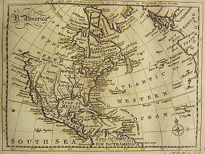 1797 Maps & Article America North & South ~ 80 Page History War Indians Congress