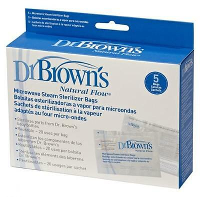Dr Brown's Natural Flow® 5 Steam Sterilizer Bags