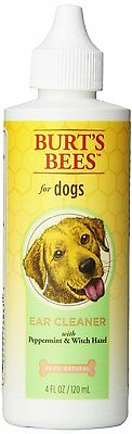 Burt's Bees EAR CLEANING for Dogs 4-Ounce SAFE, NATURAL, SOOTHING CLEANER