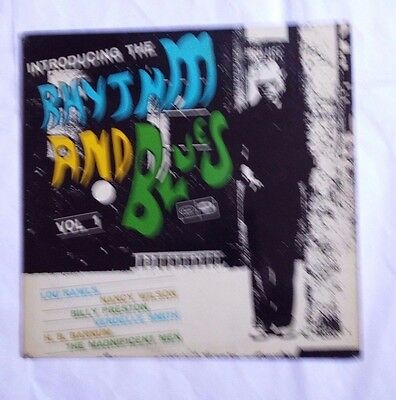 Introducing The Rhytm And Blues Vol 1 - Lp Capitol N 20921 Italy 1969