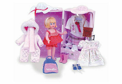 Four Seasons Dressup Doll & Trunk by Petitcollin