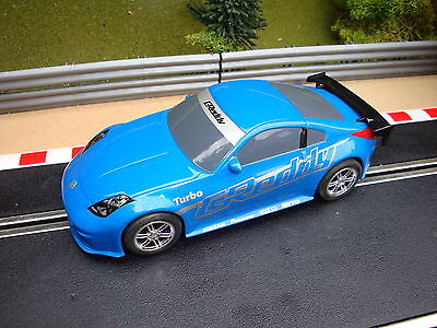 Complete Nissan Drift Scalextric Car - Good Running Condition.
