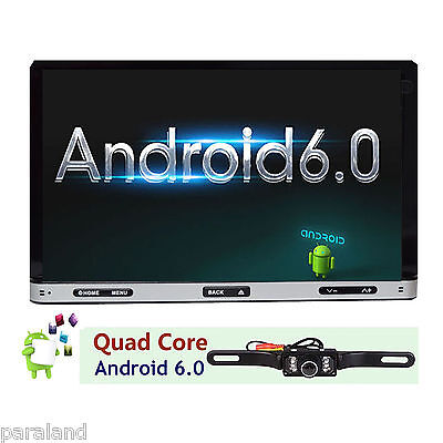 "Android 6.0 7"" Double 2Din Car Radio Stereo DVD Player GPS Nav  OBD BT 3G WiFi"