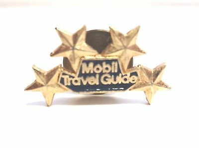 Mobil Travel Guide Pin - Four Stars