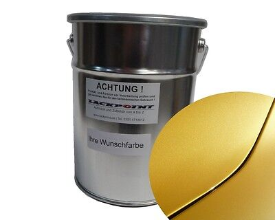 1 L Ready to use Base coat Renault J37 Yellow Met. Car paint Lackpoint Tuning RS