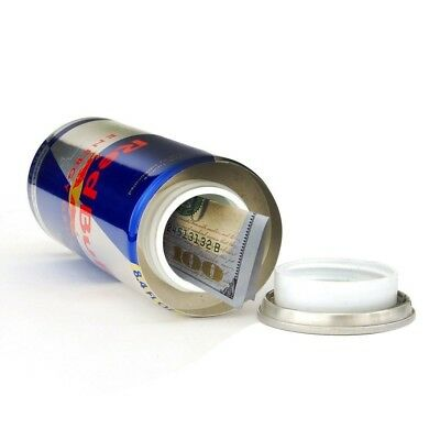 Bull Energy Drink Security Container - - Hidden Compartment Can Safe Stash
