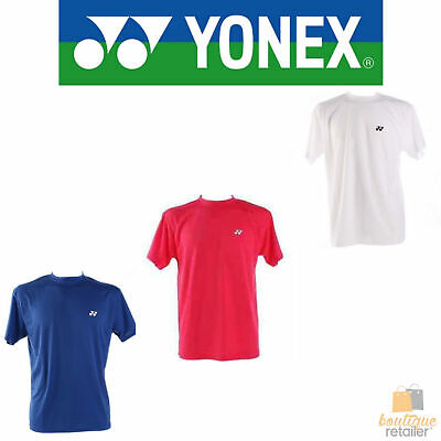 YONEX Men's Tennis Badminton Crew Neck Shirt Tee T Shirt Top LT1000EX New