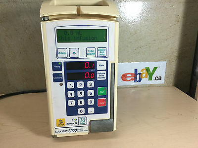 3M Heathcare Graseby 3000 Medical Modular Infusion Therapy Pump