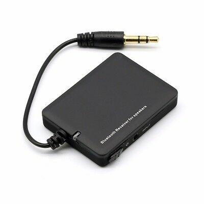 UK Bluetooth 4.0 EDR Wireless Stereo Music receiver 3.5mm A2DP AUX Audio Adapter