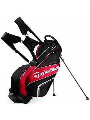 TaylorMade TM Pro 4.0 Stand Bag Black/Red
