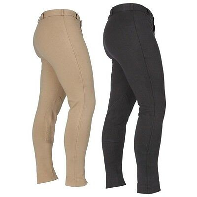 * Mens Black Shires SaddleHugger Jodhpurs *