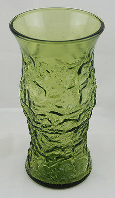 EMERALD GREEN VASE By E O BRODY CO. CLEVELAND, O. USA G106
