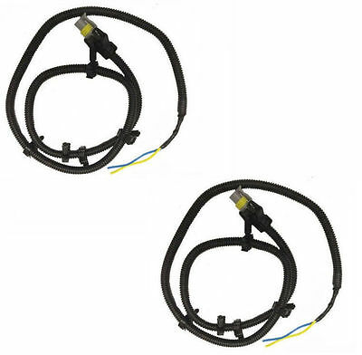 2pcs abs wheel speed sensor wire harness plug for chevrolet buick set 2 abs wheel speed sensor wire harness plug pigtail 10340314 for gm 10340316