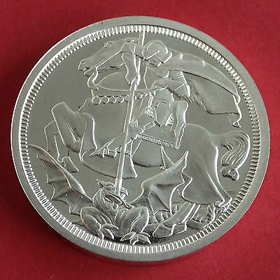 1910 Edward Vii Silver Proof Pattern George And The Dragon Crown