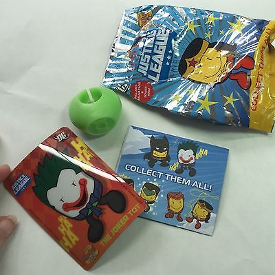 Sonic Wacky Pack Kids Meal Toy The Green Lantern Ring Tater Tot Justice League