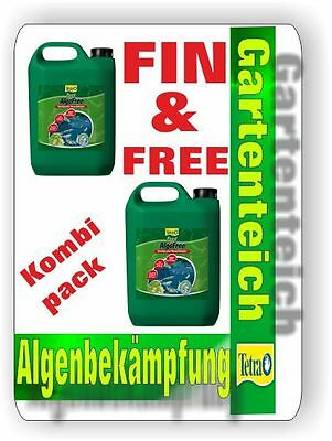 AlgoFREE and AlgoFIN per 3 Litre against green Water,Float below