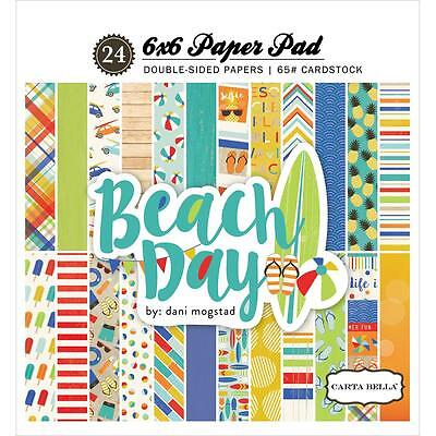 Carta Bella ~ BEACH DAY ~ 6x6 Paper Pad