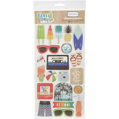 Carta Bella ~ BEACH DAY ~ Chipboard Accents