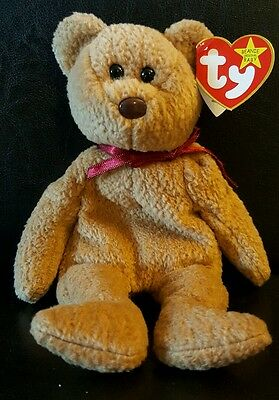 Curly beanie baby in excellent condition