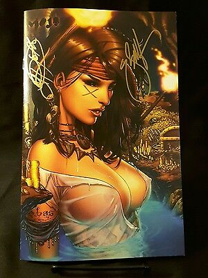 Mojo #3 Limited To 100!  Rothic Comics Signed By Both Jp Roth & Ebas!!