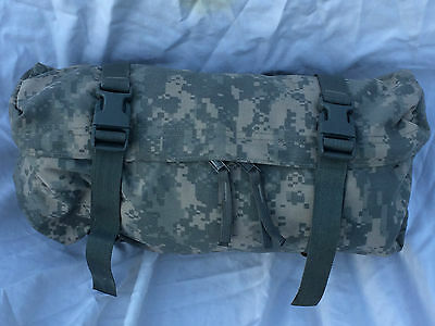 Molle Ii Waist Pack, Army Acu Digital Camo, U.s. Issue Very Good Condition