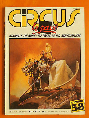 CIRCUS N° 58 du 02/1983- 132 pages