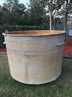 2000L Fiberglass Pond Coi Carp Pool Tank Fish Swim Giant Pot Plant Hatchery