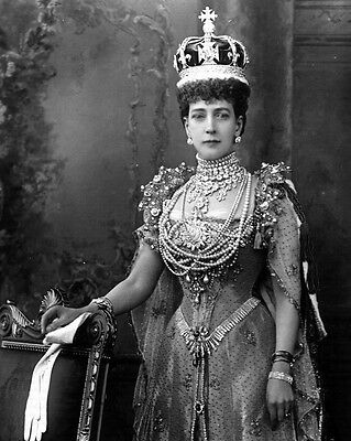New 11x14 Photo: Alexandra of Denmark, Queen of Great Britain Wife of Edward VII
