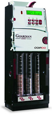 3 X Coinco Guardian G6XUS 6 Tube Coin Charger Brand New