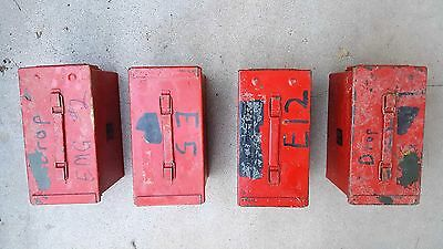 Red Ammo Can 50 Cal 5.56mm - M2A1 50CAL Metal - Used