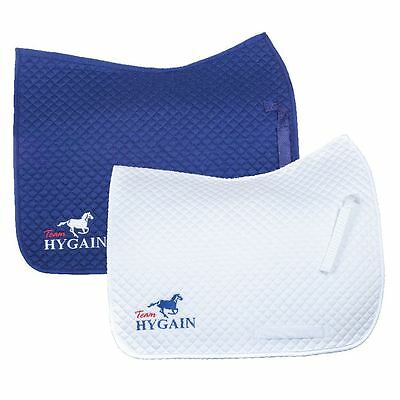 New - HYGAIN Saddle Blanket/Cloth Dressage/Jumping Navy White