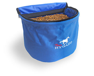 New -HYGAIN Horse Feed Bag - Tough and Durable Denier - Double ended Zip closure