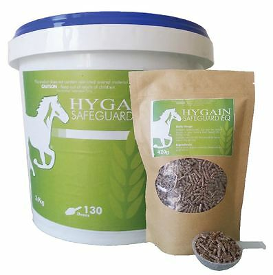 HYGAIN Safeguard EQ - Broadspectrum Mycotoxin Binder for Horses