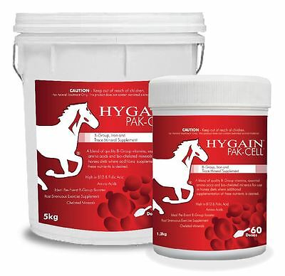 HYGAIN Pak-Cell - Vitamin B Group, Iron and Trace Mineral Supplement