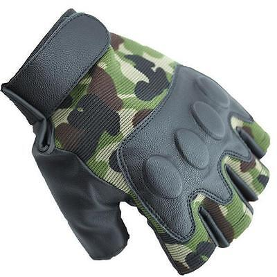 Outdoor hiking New Bicycle  Half Finger Camping Sport Gloves Cycling Gloves