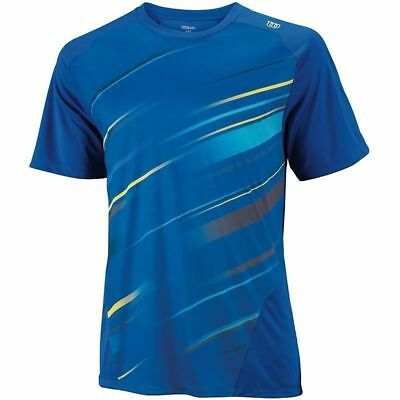 WILSON Tennis Match Performance Cardiff Crew Shirt Tee T Shirt Top WR1084500