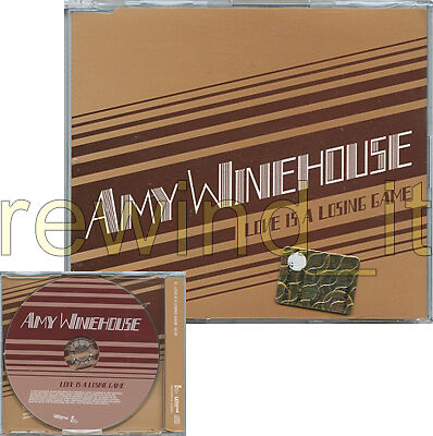 "AMY WINEHOUSE ""LOVE IS A LOSING GAME"" RARE CDsingle PROMO"