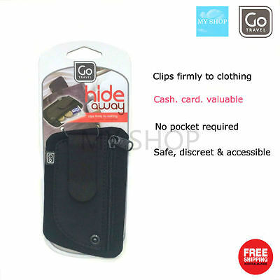 Go Travel Hide Away Clip Pouch 887#--Safe, Discreet and Accessible