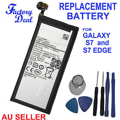 Internal Replacement Battery for Samsung Galaxy S7 and S7 Edge Genuine Capacity