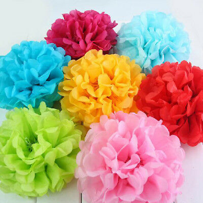 Tissue Paper Pom Poms  Wedding Party Baby shower Living and Store Decoration